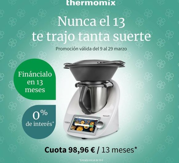 Thermomix® sin intereses ahora 0%