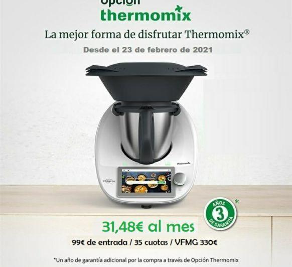 La mejor opción para disfrutar de Thermomix® .