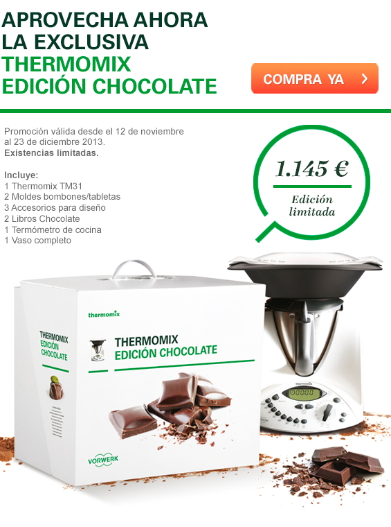 Thermomix® EDICIÓN CHOCOLATE