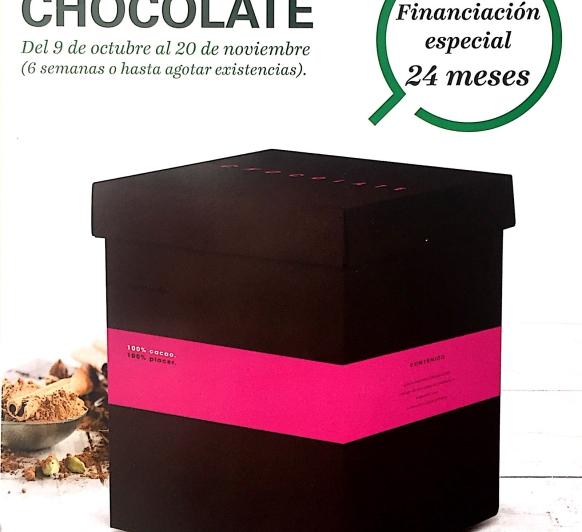 Nueva edición chocolate