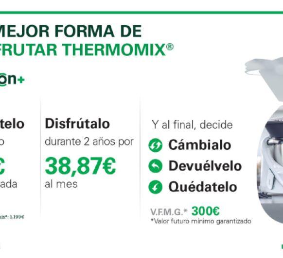Opción +, la mejor manera de disfrutar tu Thermomix®