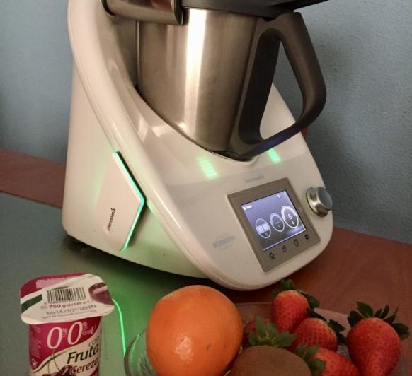 Batido de frutas y yogur