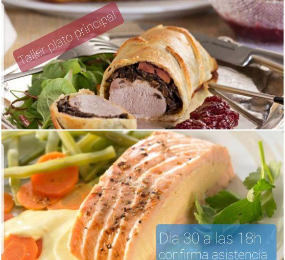 Clase de Cocina ''Plato Principal'' Día 30/12/2020 a las 18h