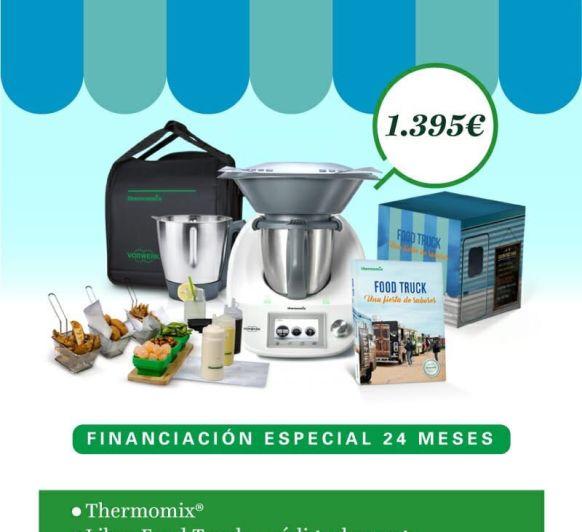 EDICIÓN Thermomix® FOOD TRUCK!! FINANCIACIÓN SIN INTERESES, DOBLE VASO Y MUCHO MÁS!