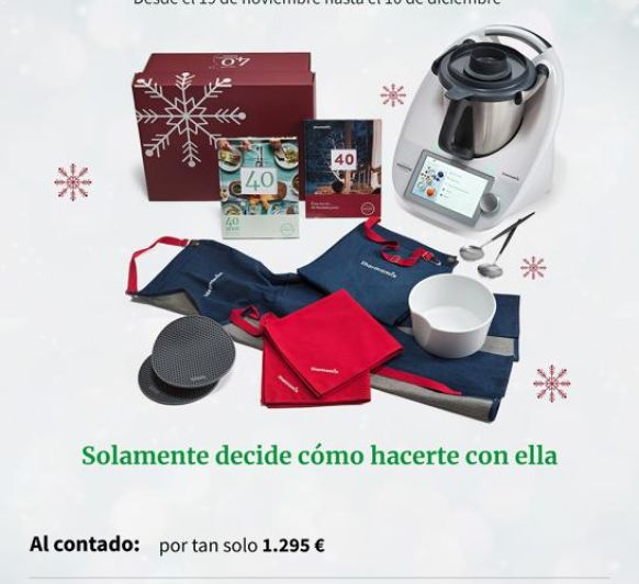 Promoción Navidad al 0% TM6