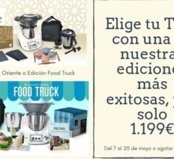 Gran Promoción TM5 con doble vaso por 1.199 € Edición Oriente o Edición Food Truck