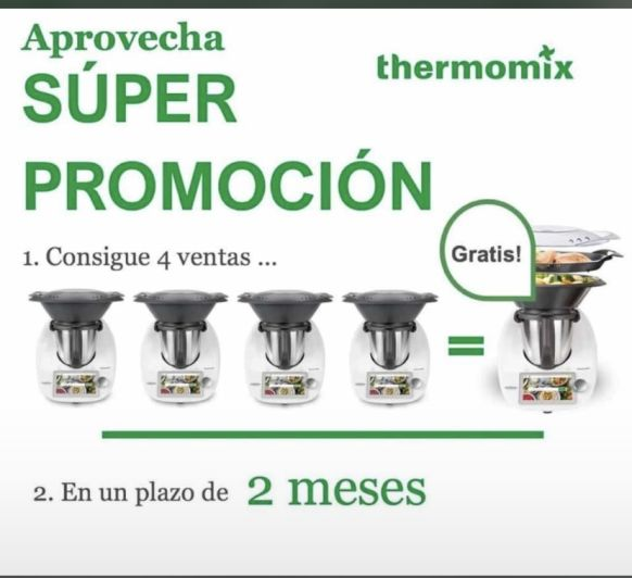 CONSIGUE TU Thermomix® SIN COSTE!!